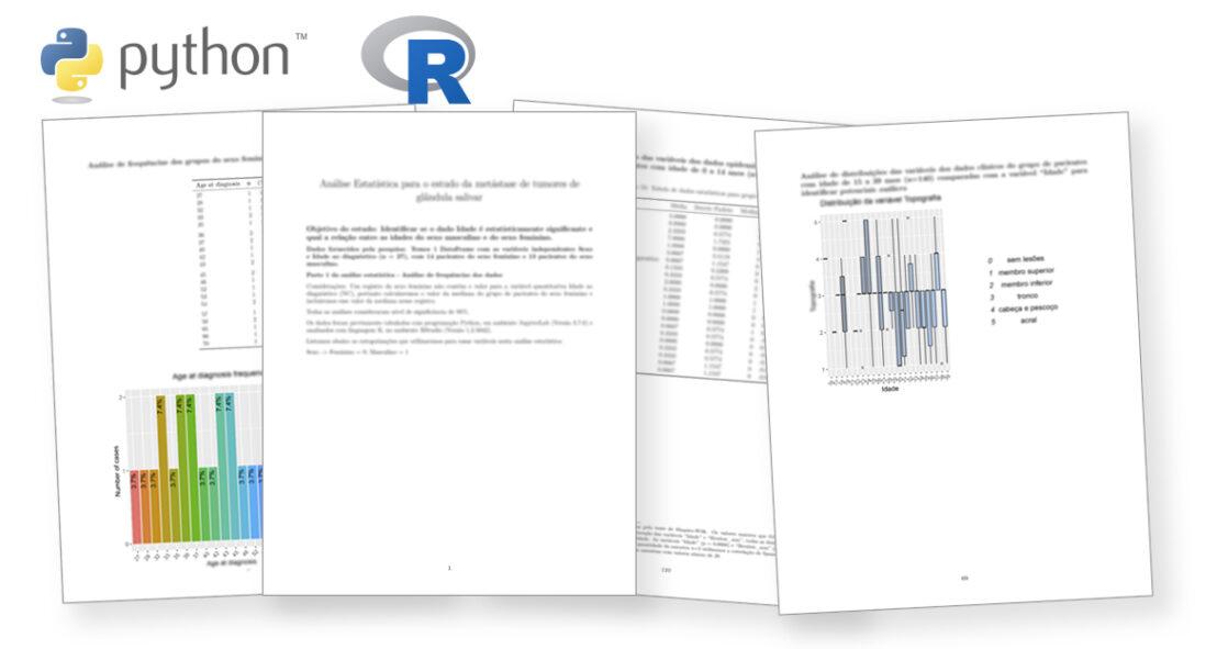 Análise estatística com Python e linguagem R - Relatórios em RMarkdown
